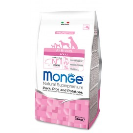 MONGE ALL BREEDS ADULT MAIALE, RISO E PATATE KG. 12