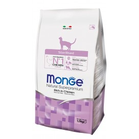 MONGE GATTO STERILISED POLLO KG. 1,5