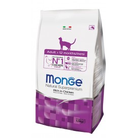 MONGE GATTO ADULT POLLO KG. 1,5