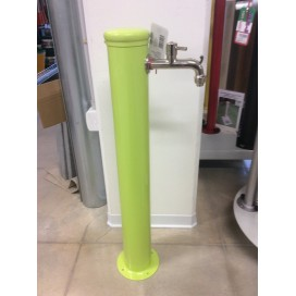 Fontana 2 rubinetti verde acido