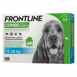 FRONTLINE COMBO CANE DA 10 A 20 Kg.