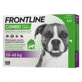 FRONTLINE COMBO CANE DA 20 A 40 Kg.