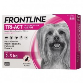 FRONLINE TRI-ACT CANI 2-5 KG.