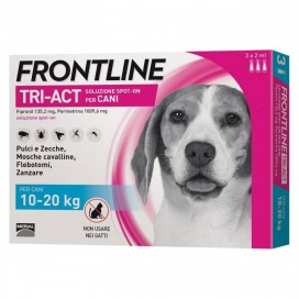 FRONLINE TRI-ACT CANI 10-20 KG.