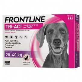 FRONLINE TRI-ACT CANI 20-40 KG.