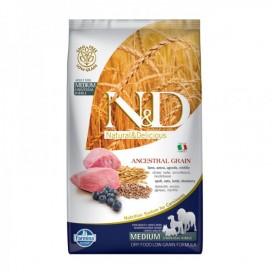 N&D ADULT MEDIUM FOGLIA GIALLA AGNELLO E MIRTILLO KG. 2,5