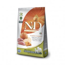 N&D ZUCCA ADULT MEDIUM&MAXI CINGHIALE E MELA KG. 2,5