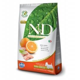 N&D ADULT MINI PESCE E ARANCIA GR. 800