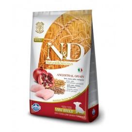 N&D PUPPY MINI FOGLIA GIALLA POLLO E MELOGRANO GR. 800