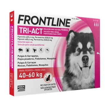 FRONTLINE TRI-ACT CANI 40-60 KG.