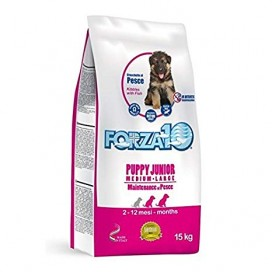 PUPPY JUNIOR MANTENIMENTO AL PESCE MED/LARGE KG. 15