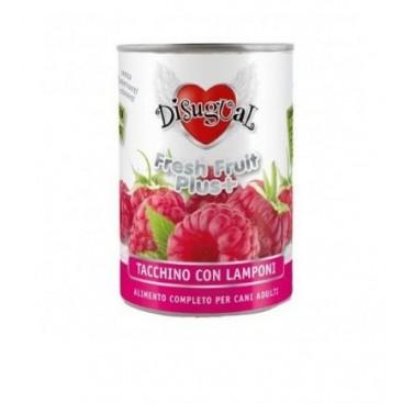 BOX 6 PZ. DISUGUAL FRUIT TACCHINO E LAMPONI GR. 400