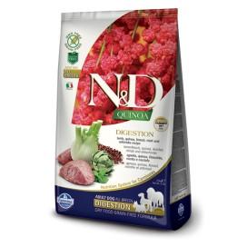 N&D ADULT QUINOA DIGESTION AGNELLO E FINOCCHIO KG. 2,5