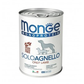 BOX 4 PZ. MONGE CANE SOLO AGNELLO GR. 400
