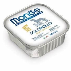 BOX 5 PZ. MONGE CANE SOLO POLLO GR. 150