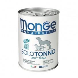 BOX 4 PZ. MONGE CANE SOLO TONNO GR. 400