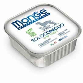 BOX 5 PZ. MONGE CANE SOLO CONIGLIO GR. 150