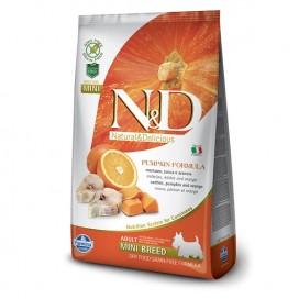 N&D ADULT MINI ZUCCA, MERLUZZO E ARANCIA KG. 2,5