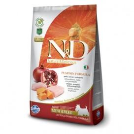 N&D ADULT MINI ZUCCA, POLLO E MELOGRANO KG. 2,5