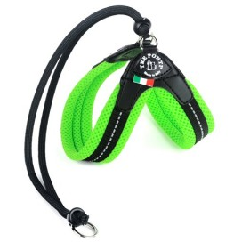 PETTORINA EASY FIT RETE VERDE FLUO TF120