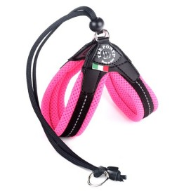 PETTORINA EASY FIT RETE ROSA FLUO TF120