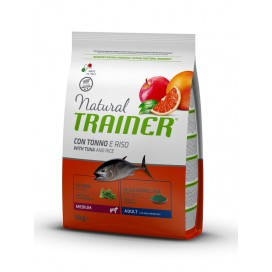 NATURAL TRAINER ADULT MEDIUM TONNO KG. 3