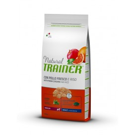 NATURAL TRAINER ADULT MEDIUM POLLO KG. 12