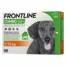 FRONTLINE COMBO CANE DA 2 A 10 Kg.