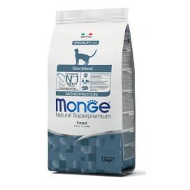 MONGE GATTO STERILIZED MONOPROTEICO TROTA 400 GR