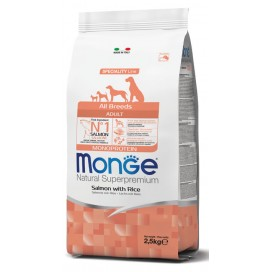 MONGE ALL BREEDS ADULT SALMONE,RISO,PATATE KG. 12