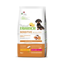 NAT PUPPY NO GLUTINE MINI SALMONE  800 GR.