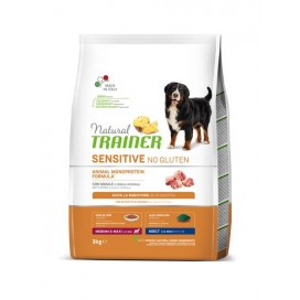 NAT TRAINER SENSITIVE MED-MAX MAIALE 3KG