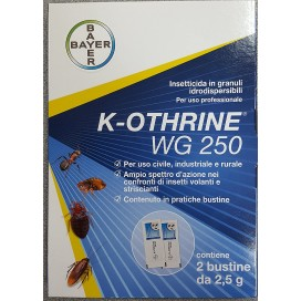 K-OTHRINE  WG25  2 BUST X 2,5 GR.