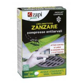 ZAPI ZANZARE COMPRESSE ANTILARVA 20 GR. PROXILAR