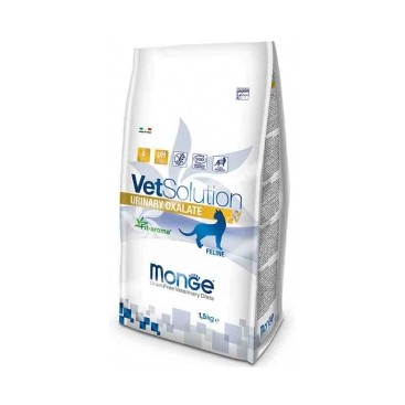 MONGE VETSOLUTION GATTO URINARY OXALATE KG.  1,5
