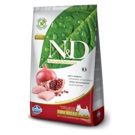 N&D ADULT MINI GRAIN FREE POLLO & MELOGRANO  KG. 2,5
