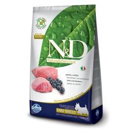 N&D ADULT MINI GRAIN FREE AGNELLO & MIRTILLO KG.  2,5