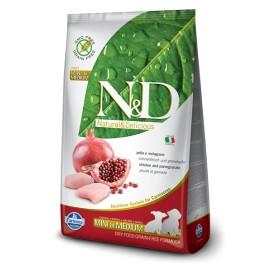 N&D PUPPY MINi/MEDIUM GRAIN FREE POLLO &  MELOGRANO KG. 2,5