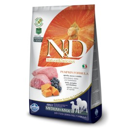 N&D ZUCCA ADULT MEDIUM&MAXI AGNELLO E MIRTILLO KG. 2,5