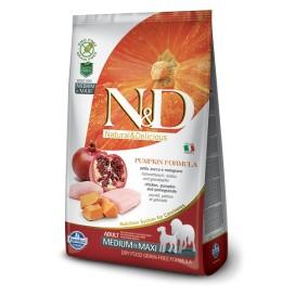 N&D ZUCCA ADULT MEDIUM&MAXI POLLO E  MELOGRANO KG. 2,5