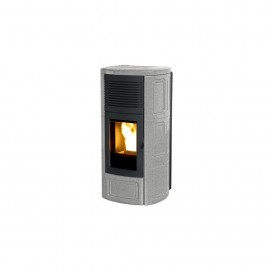 Stufa a pellet MCZ SUITE 2.0 AIR 10.1 KW Colore Salt and pepper