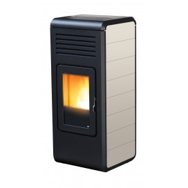 STUFA A PELLET MCZ NIMA CONFORT AIR 11,5 KW WARM GREY